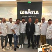 Lavazza reçoit les chef à Roland Garros, et renouvelle son partenariat pour 2 ans pour ce tournoi du grand Chelem