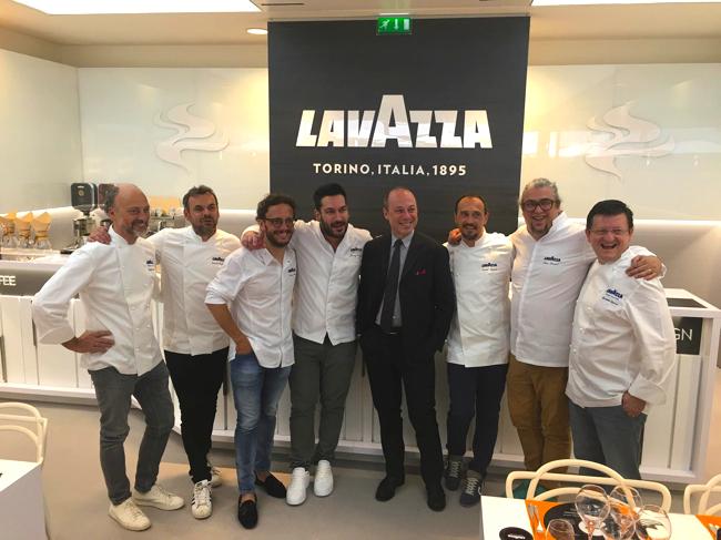 chefs lavazza Roland Garros 2018