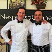 #NespressoCannes – La grande Battle des Guides se déroulait hier soir sur la plage Nespresso avec 6 chefs
