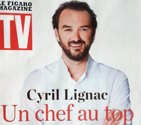 Chef Cyril Lignac