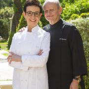Joël Robuchon invite Carme Ruscalleda pour signer la carte de l'été de L'Odyssey