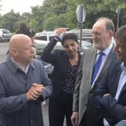 Le Ministre Nicolas Hulot dit du chef Thierry Marx «Vous faites partie des arbres qui poussent en silence et qui construisent la solidarité de demain»
