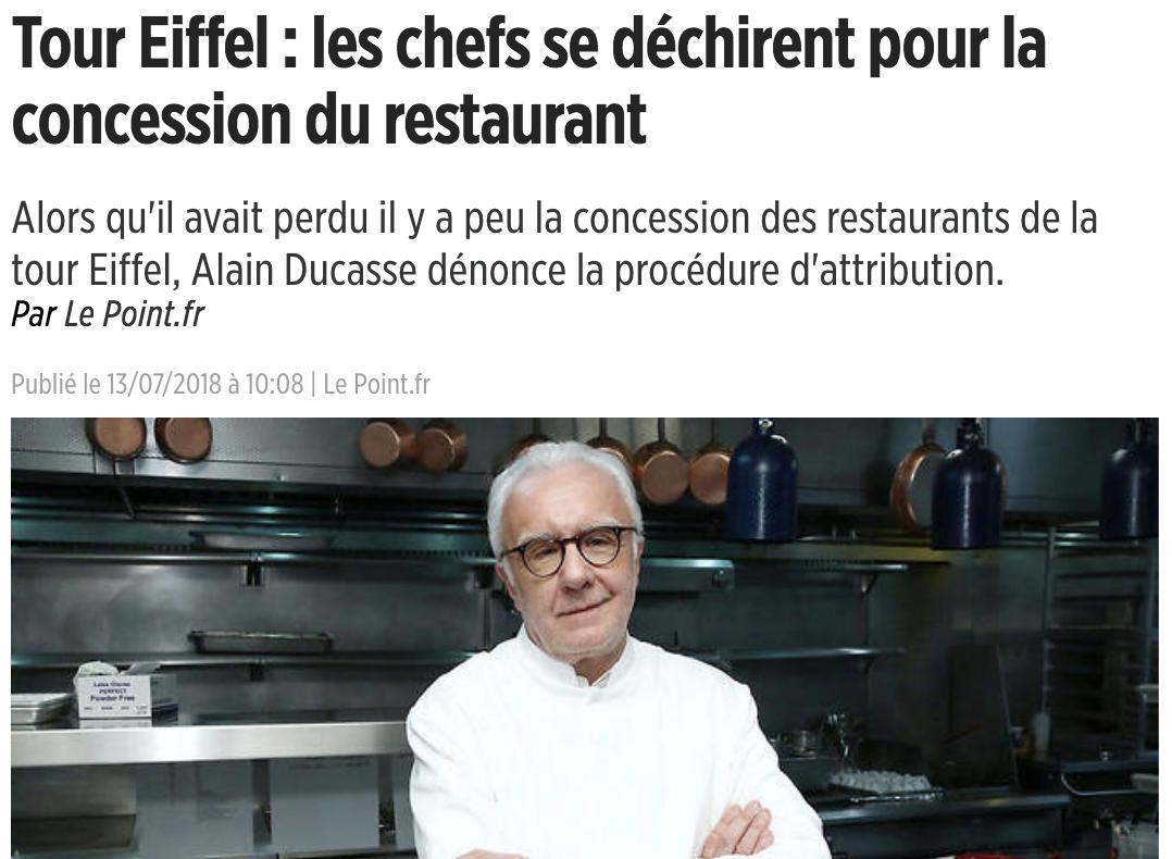 guerre restaurant tour eiffel