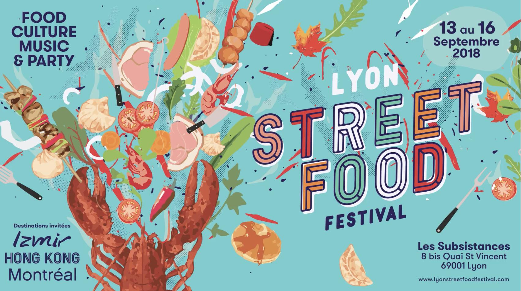 lyon street food festival 2018