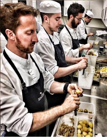 equipe de cuisine