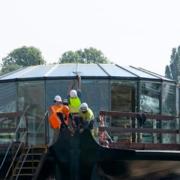 Ducasse Sur Seine – Les dernières images avant la mise à l'eau – Oppening au mois de septembre.