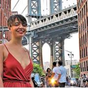 Camille Martin, à 26 ans elle est chef à New York et à la tête d'une brigade de 25 cuisiniers