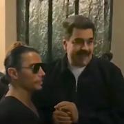 Maduro le Président Vénézuélien se régale à table chez Salt Bea, pendant que son peuple manque de nourriture