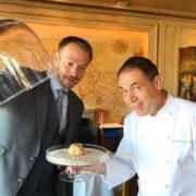 Sur quelle grande table peut on trouver de la truffe blanche d'Alba ?