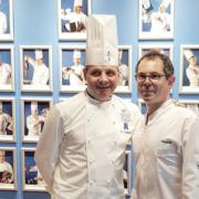 Scènes de chefs – Pierre Hermé à L'Élysée, Yoni Saada en italie, Arnaud Faye cuisine pour l'Académie des Beaux-Arts, Pascal bardot cuisine au Cordon Bleu…