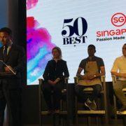 F&S était à la conférence de presse du World's 50 Best Restaurants à Londres, puis au dîner à six mains. Découvrez les nouveautés à venir.
