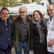 Alain Ducasse et le Collège culinaire de France rencontrent les bergers d'estive du pays Basque à Saint-Jean-de-Luz