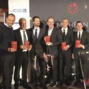 Cérémonie de la présentation du guide Michelin New York 2019 hier soir
