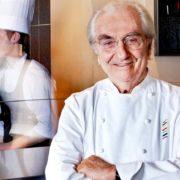 La cuisine du chef Gualtiero Marchesi part en tournée à travers le monde pour célébrer cet artisan de l'Art Culinaire