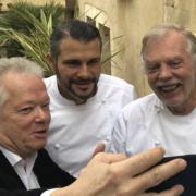 Scènes de chefs – Amber ferme pour travaux, Laurent Michel à choisi son poissonnier, Jean Sulpice ferme pour l'hiver, Bruno Ménard fait sa tournée parisienne, …