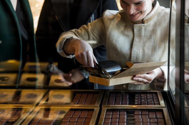 chocolaterie alain ducasse londre