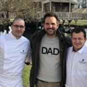 Scènes de Chefs – Dani Garcia s'entraîne à la Pizza, Alain Dutournier soutient l'opération Galette des Chefs,  Christophe Michalak se ressource aux Caudalies, …