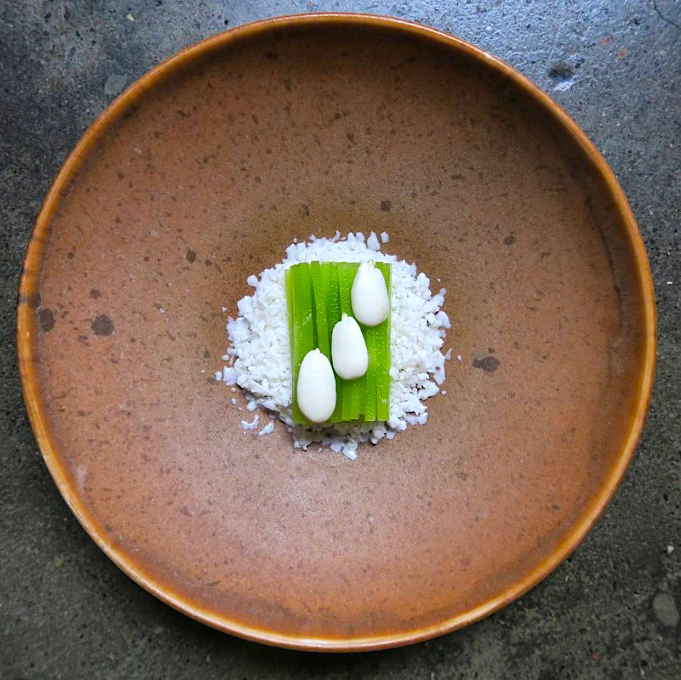 beaux plats gastronomiques