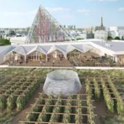 En 2020 Paris disposera de la plus grande ferme urbaine au monde, 14000 m2 surplomberont le Hall 6 du parc des Expositions