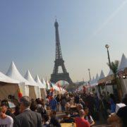 Paris – Le Village International de la Gastronomie et des cuisines Populaires.  «un vrai métissage de culture» indique Sébastien Ripari