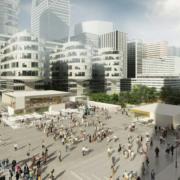 Table Square – la gastronomie prend place dans le quartier de la Défense à Paris, on y retrouvera Olivier bellin, Anne-Sophie Pic et Akrame