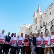 Les chefs de Provence reçoivent leurs plaques d'étoilés Michelin 2019