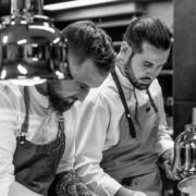 Scènes de  chefs – Pierre Sang Boyer de nouveaux projets à venir, Fiesta Italiana au Plaza Athénée, les morilles de Guy Martin,  Patrick Bertron en séance photo, Duo de cuisine Crépel/Villemin …