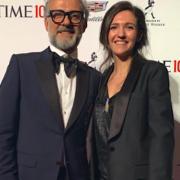 Massimo Bottura à NYC pour la soirée de Gala du TIME 100 des personnalités les plus influentes de la planète