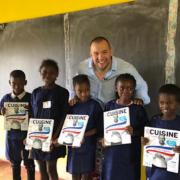Guillaume Gomez inaugure la première école de formation aux Arts Culinaires du nord de Madagascar