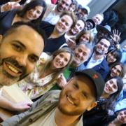 La foule était présente ce week-end pour participer au » Po-Up pâtisserie » des chefs Dominique Ansel et Yann Couvreur
