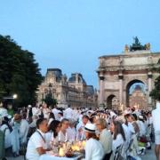 Galère pour les participants au «Dîner en Blanc» cette semaine à Paris