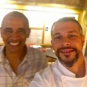 Quand la famille Obama fait escale dans les cuisines de L'Oustau de Baumanière des chefs Jean-André Charial et Glenn Viel