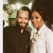 Des Stars pour accompagner les Chefs qui Cuisinent au Refettorio à la Madeleine à Paris