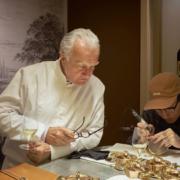 Il y a quelques jours, Alain Ducasse et Lawrence Ho fêtaient les 1 an de leur restaurant à Macao au Morpheus