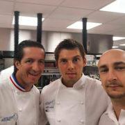 Scènes de Chefs – Romain Meder à la Fenière, Xavier Pincemin chez Yoann Conte, Olivier Chaignon chez Christophe Hay,  Guillaume Gomez ….