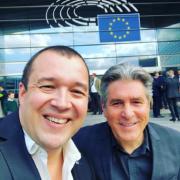 EuroToques – Les chefs Michel Roth et Guillaume Gomez au Parlement Européen à Bruxelles pour défendre les meilleurs produits