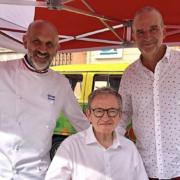 Cuisine du Sud à La Vallette-du-Var. Les chefs mettent les spécialités corse ei Italienne à l'honneur