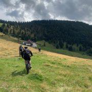 Challenge VTT des chefs Jour 1 – Arrivée dans les Vosges et découverte de l'environnement !