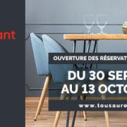 Tous au Restaurant – Jour J-1 – Save the date : mardi 24 septembre 10 heures