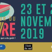 Salon «Autour du livre» – Marseille – du 23 au 24 novembre 2019