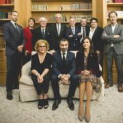 Les membres du nouveau bureau des Grandes Tables du Monde renouvellent leur confiance au Président David Sinapian