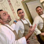 Le temps d'un déjeuner avec Ronan Kervarrec et son équipe au Pauvillon Ledoyen