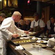 Le chef Éric Frechon a fêté ses 20 ans au Bristol par 5 dîners au Chefs Club à New York