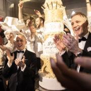 Le George V a fêté ses 20 ans en magie,  gastronomie et musique – Au piano,  Christian Le Squer, Simone Zanoni, Alan Taudon & Michaël Bartocetti