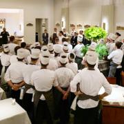 Daniel Humm a ouvert hier son Davies and Brook au Claridge's Hotel à Londres – la table la plus attendue de l'année