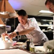 Scènes de Chefs – du foie gras pour Frédéric Duca, un réveillon de Noël pour Aurélien Gransagne,  un pot au feu pour Jean imbert,  un risotto pour Taku Sekine, tous préparent Noël…
