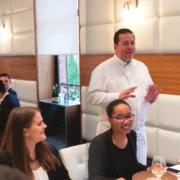 Arnaud Lallement, parrain de la remise des diplômes de la Luxury Hotelschool