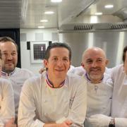 14 étoiles réunies à l'Assiette Champenoise du chef Arnaud Lallement pour la Saint-Vincent