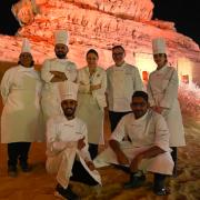 Anne-Sophie Pic – 8ème chef à cuisiner sur les vestiges de la cité de Nabatéenne d'Hegra en Arabie Saoudite, le chef Régis Marcon va suivre