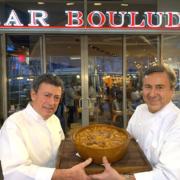 C'était la Fête du Cassoulet cette semaine à New York – autour de Ariane Daguin les chefs Antoine Westermann, Christian Constant, Jean-Pierre Xiradakis, Daniel Boulud ….